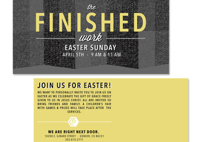 The Pearl Church Easter Mailer