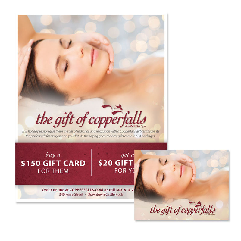 Copper falls Holiday Gift Certificate Promotions