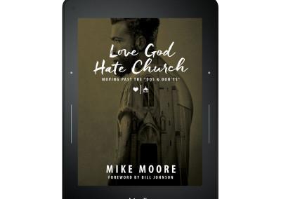 Love God Hate Church on Kindle