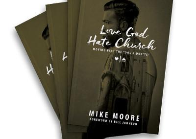 Love God Hate Church Book Stack
