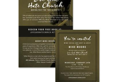 Love God Hate Church VIP invites