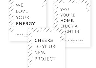 Lindye Galloway Interiors Client Connect Cards