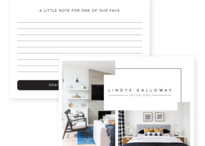 Lindye Galloway Interiors Postcard